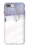 Winter Landscape with Birch Trees iPhone 7 Plus Case