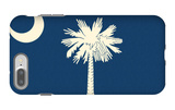 South Carolina State Flag iPhone 7 Plus Case by  Lantern Press