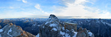 Panoramic View from the Watzmanngipfel to Steinernes Meer Photographic Print by Stefan Sassenrath