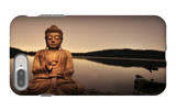 Golden Buddha Lakeside iPhone 7 Plus Case by Jan Lakey