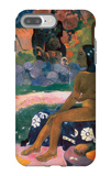 Her Name is Vairaumati iPhone 7 Plus Case by Paul Gauguin