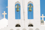Steeple, Bells, Crosses, Island Sifnos, the Cyclades, Greece Photographic Print by Alexander Georgiadis