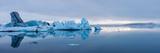 Panorama, Glacier Lagoon Jškulsarlon Photographic Print by Catharina Lux
