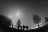Long-Exposure Photography New Year's Eve, Fog Photographic Print by Benjamin Engler