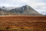 Mountain, Porgeirsfell/Thorgeirsfell, Snaefellsnes, West Iceland Photographic Print by Julia Wellner