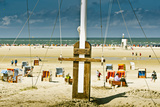 Germany, Schleswig-Holstein, Amrum, Norddorf, Beach Photographic Print by Ingo Boelter