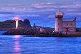 Ireland, Howth Lighthouse Photographic Print by Thomas Ebelt