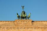 Berlin, the Brandenburg Gate, Quadriga Photographic Print by Catharina Lux
