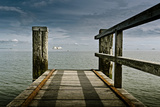 Germany, Schleswig-Holstein, Wyk, Beach, Jetty Photographic Print by Ingo Boelter