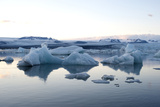 Icebergs, Glacier Lagoon Jškulsarlon, South Iceland Photographic Print by Julia Wellner