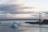Iceberg, Glacier Lagoon Jškulsarlon, South Iceland Photographic Print by Julia Wellner