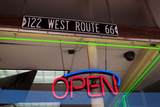 USA, Arizona, Route 66, Williams, Shop Window Photographic Print by Catharina Lux