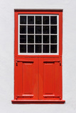 South Africa, Cape Town, Window, Red Photographic Print by Catharina Lux