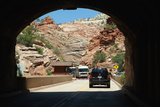 USA, Utah, Zion National Park, Tunnel Photographic Print by Catharina Lux