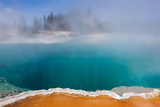 USA, Yellowstone National Park, West Thumb Geyser Basin, Black Pool Photographic Print by Catharina Lux
