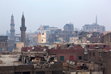 Egypt, Cairo, Islamic Old Town, Garbage Problem Photographic Print by Catharina Lux