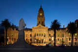 Cape Town, Historical City Hall, in the Evening Photographic Print by Catharina Lux