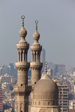 Egypt, Cairo, Citadel, View at Mosque-Madrassa of Sultan Hassan Photographic Print by Catharina Lux