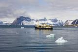 Norway, Spitsbergen, Hornsund, Expedition Ship 'Origo' Photographic Print by Frank Lukasseck