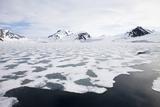 Norway, Spitsbergen, Hornsund, Drift Ice Photographic Print by Frank Lukasseck