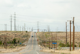 USA, Utah, Street, Power Poles Photographic Print by Catharina Lux