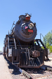 USA, Arizona, Route 66, Williams, Railway Station, Steam Engine Photographic Print by Catharina Lux