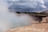 USA, Yellowstone National Park, Midway Geyser Basin Photographic Print by Catharina Lux