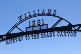 USA, Arizona, Route 66, Williams, Entrance to the Town Photographic Print by Catharina Lux
