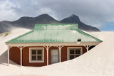South Africa, Houtbay, in Sand Sinking House Photographic Print by Catharina Lux