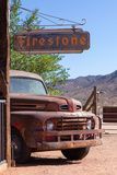 USA, Arizona, Route 66, Hackberry, Rusted Ford Photographic Print by Catharina Lux