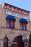 USA, Arizona, Route 66, Williams, Hotel Facade Photographic Print by Catharina Lux