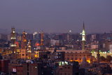 Egypt, Cairo, Islamic Old Town in the Evening Photographic Print by Catharina Lux