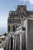 South Africa, Cape Town, Table Mountain, Cableway, Technology Photographic Print by Catharina Lux
