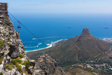 Capetown, Table Mountain, Cableway Photographic Print by Catharina Lux