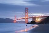 The USA, America, Golden Gate Bridge, San Francisco, California Photographic Print by Stefan Hefele