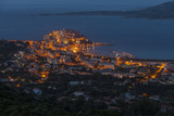 Europe, France, Corsica, Calvi, Town View, Evening Mood Photographic Print by Gerhard Wild