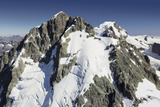 Mount Madeline, Fiordland National Park, Southern Alps, Southland, South Island, New Zealand Photographic Print by Rainer Mirau