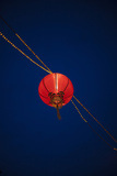 Chines Lampion Hanging in the Sky, Singapore Chinatown Photographic Print by Harry Marx