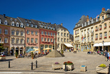 Europe, Grand Duchy of Luxembourg, Echternach, Market Square Photographic Print by Chris Seba