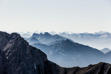 Summit Panorama of 'Zugspitze' Photographic Print