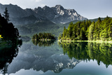 Lake Eibsee with 'Zugspitze' Photographic Print