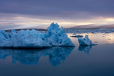 Glacier Lagoon Jškulsarlon Photographic Print by Catharina Lux
