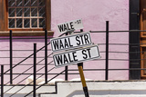 South Africa, Cape Town, Varity of Street Signs Fotografisk tryk af Catharina Lux