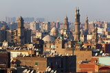 Egypt, Cairo, Islamic Old Town Evening Light Photographic Print by Catharina Lux