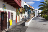 Row of Houses at the Avenida Maritima, Balcony Houses, La Palma Photographic Print by Gerhard Wild