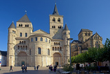 Germany, Rhineland-Palatinate, the Moselle, Trier, Cathedral Photographic Print by Chris Seba