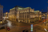 Austria, Vienna, Back View of the State Opera Photographic Print by Gerhard Wild