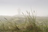 Dunes, Grass, the North Sea, Island Langeoog, Fog Photographic Print by Roland T.