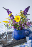 Table Decoration, Bouquet Photographic Print by Brigitte Protzel