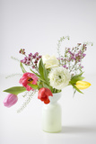 Spring Bouquet with Tulips Photographic Print by Brigitte Protzel